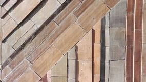 Mur de briques Photos stock