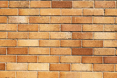 Mur de briques Images libres de droits