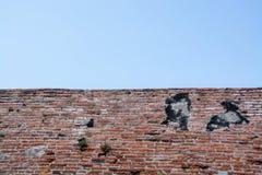 Mur de briques antique Photo stock