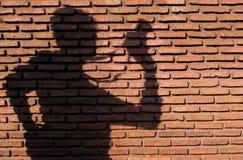 Mur de briques avec Photo stock