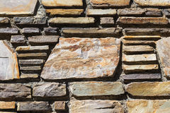Mur de briques avec l'espace de copie sur une grande brique Image stock