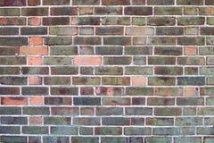 Mur de briques avec la texture de fond de peinture d'épluchage Image libre de droits