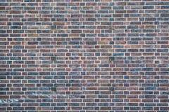 Mur de briques avec la texture de fond de peinture d'épluchage Photographie stock