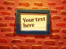 Mur de briques avec la trame Photo libre de droits