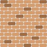 Mur de briques de bande dessin?e Fond horizontal de mur de briques Illustration de vecteur illustration libre de droits