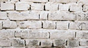 Mur de briques blanc Photos stock