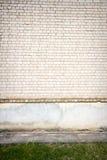 Mur de briques blanc Image stock