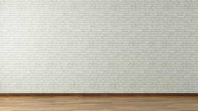 Mur de briques blanc Photo stock