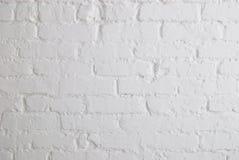 Mur de briques blanc Photo libre de droits