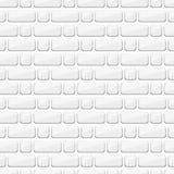 Mur de briques blanc adherence Construction Fond sans couture, texture des briques illustration libre de droits