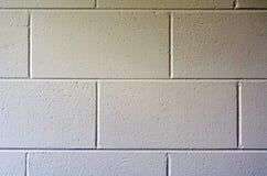 Mur de briques blanc moderne. images libres de droits