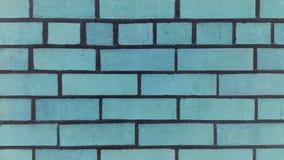 Mur de briques bleu abstrait photographie stock