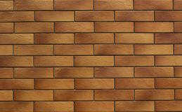 Mur de briques de Brown Fond photographie stock libre de droits