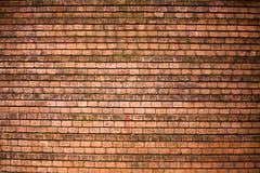 Mur de briques de Brown, maçonnerie lisse, texture, fond images stock