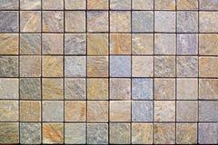 Mur de briques coloré Photo libre de droits