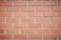 Mur de briques de couleur rouge, panorama large de la ma?onnerie images libres de droits