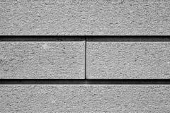 Mur de briques décoratif en noir et blanc illustration libre de droits