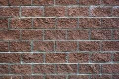 Mur de briques d'un grès poreux Photo stock