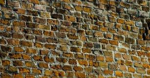 Mur de briques dans le quart la Nouvelle-Orléans de Fench Photos stock