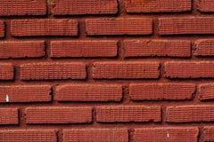 Mur de briques de Brown Photographie stock