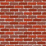 Mur de briques de Brown illustration libre de droits