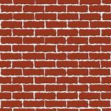 Mur de briques de Brown illustration stock