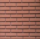 Mur de briques de Brown Image libre de droits