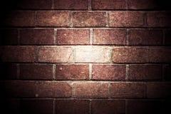 Mur de briques de cru Images libres de droits