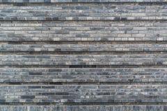 Mur de briques de gris de style chinois Images stock