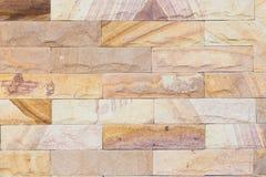 Mur de briques de marbre Images libres de droits