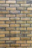 Mur de briques de vintage Photos libres de droits