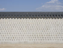 Mur de briques en pierre Image libre de droits