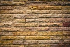 Mur de briques en pierre Photo libre de droits