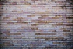Mur de briques en pierre blanc et brun Image libre de droits