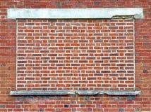 Mur de briques et béton photographie stock