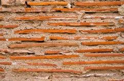Mur de briques et mortier Photo stock