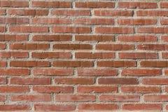 Mur de briques et mortier rouges images stock