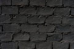 Mur de briques foncé Images libres de droits