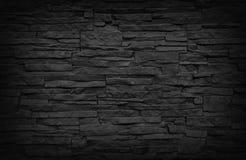 Mur de briques foncé Photo libre de droits