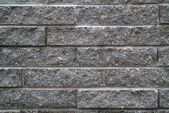 Mur de briques foncé Photographie stock