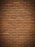 Mur de briques foncé rouge Photo libre de droits