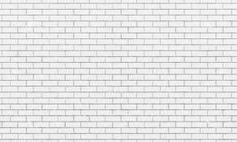 Mur de briques, fond blanc de texture de mur de briques pour la conception graphique, vecteur illustration stock