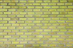Mur de briques de fond jaune de texture de couleur, texture de conception de mur de cru, fond, banni?re abstraite de Web photos libres de droits