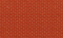 Mur de briques, fond orange rouge de texture de mur de briques pour la conception graphique, vecteur illustration libre de droits