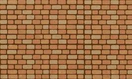 Mur de briques, fond orange de texture de mur de briques de cru pour la conception graphique, vecteur illustration stock