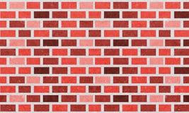Mur de briques, fond orange de texture de mur de briques rouges pour la conception graphique, vecteur illustration libre de droits