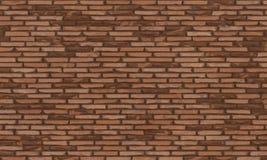 Mur de briques, fond de texture de mur de briques de Brown pour la conception graphique, vecteur illustration libre de droits