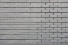 Mur de briques gris Photo libre de droits