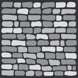 Mur de briques gris de fond, vecteur illustration de vecteur