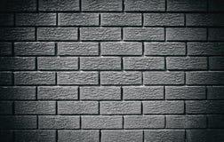 Mur de briques de gris de Wintage Photos stock